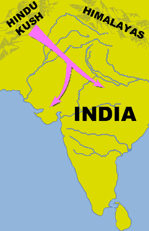 Aryan migration to the Indian subcontinent