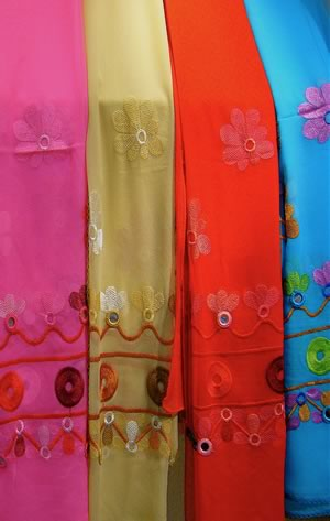 Chinese History - The Silk Road -These scarves are made from silk, a beautiful, soft and fabric seems to glow.