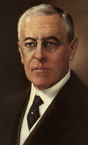 World War I - Woodrow Wilson